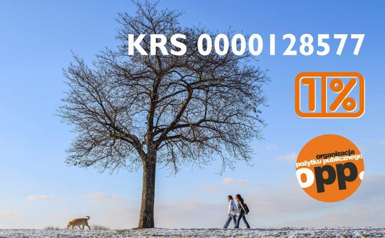 Pomagaj lokalnie! Przekaż 1% na wybrany cel – KRS 0000128577
